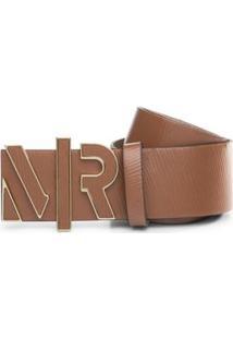 Cinto Cintura Quadril Regular Fivela Encapada Nude - M