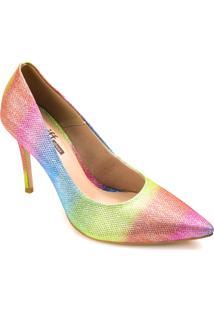 Sapato Scarpin Zariff Brilho