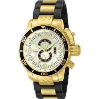 8e6811c749a Relógio Invicta Analógico Corduba - 4899 Masculino - Masculino-Dourado+Preto