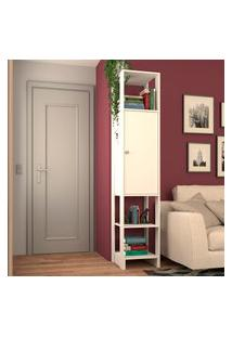 Estante Closet Nova Mobile Yes 1 Porta E 3 Nichos