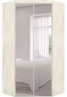 Guarda-Roupa Closet Modulado Virtual Com Espelho 2 Pt 3 Gv Rovere Amadeirado