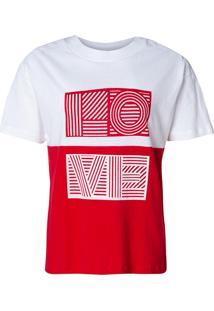 Camiseta Love (Bicolor, Pp)