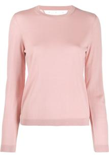 Red Valentino Lightweight Knitted Jumper - Rosa