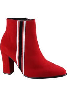 Bota Feminina Beira Rio Ankle Boot