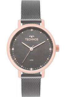 Relógio Feminino Technos Fashion 2035Mmo/5C - Unissex-Rose Gold
