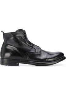 Officine Creative Ankle Boot Hive Sem Cadarço - Preto