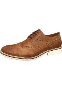 Sapato Social Sartre Oxford Inglês Caramelo