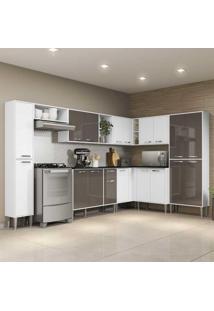 Cozinha Completa C/ Armário E Balcão Xangai Rock Multimóveis