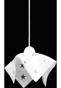 Pendente Tulipa Estrela 9017/1 Es Branco