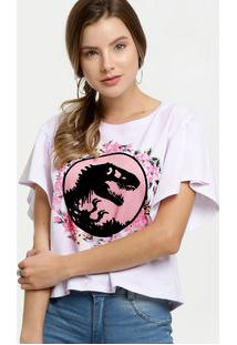 Blusa Feminina Estampa Jurassic Park Universal