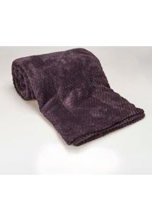 Cobertor Casal 1,80M X 2,20M Dobby Chumbo