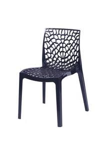 Cadeira Gruvyer Preto Or Design