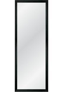 Espelho Decorativo Glam 135X55 Arabesco Preto