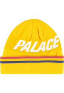 Palace Gorro Com Logo Ferghouse - Amarelo