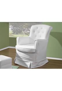 Poltrona De Amamentação Balanço Carisma Branco - Canaã Móveis