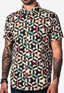 Camisa Geometric Color 200115
