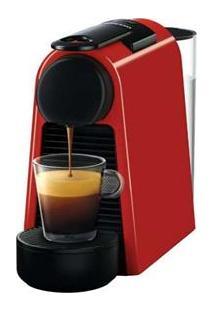 Cafeteira Nespresso Essenza Mini D30 - Vermelha