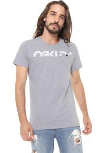 Camiseta Oakley Mark Ii Block Cinza
