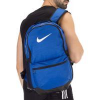 5ab7b6b230401 Mochila Nike Brasilia Backpack M - 24 Litros - Azul Esc Preto