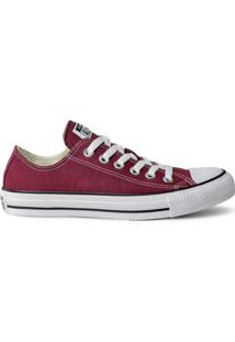 Tênis Converse Chuck Taylor All Star Ox - Feminino-Bordô