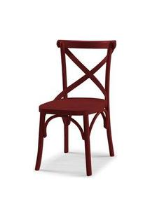 Cadeira X Cor Vinho - 31326 Preto