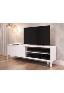 Rack Para Tv Até 60 Polegadas 1 Porta Lift Artesano Branco