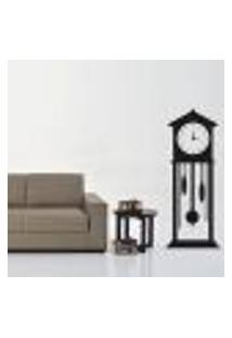 Adesivo De Parede Decorativo Relógio Antigo - M 151X60Cm