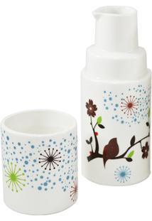Moringa De Ceramica - Unissex-Branco