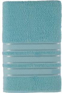 Toalha De Banho Felpuda 100% Algodão 70X130 Teka Dry Alice - Teka - Azul Claro
