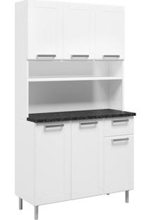Cozinha Compacta Múltipla 6 Pt 1 Gv Branco E Preto