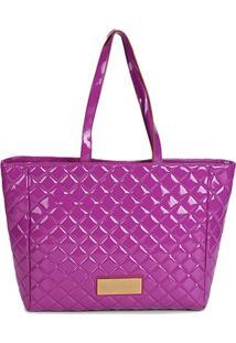 Bolsa Loucos E Santos Shopper Matelassê Feminina - Feminino-Pink