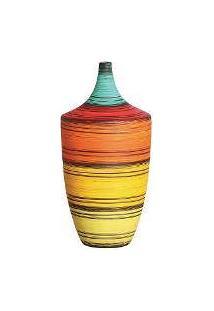 Vaso Decorativo Grande Colorido