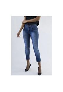 Calça Jeans Feminina Premiun Cigarette Grecia