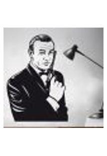 Adesivo De Parede Agente 007 James Bond - En 118X84Cm