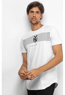 Camiseta Industrie New York Especial Masculina - Masculino-Branco