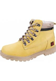 Bota Sandro Moscoloni Premium Goods Amarelo