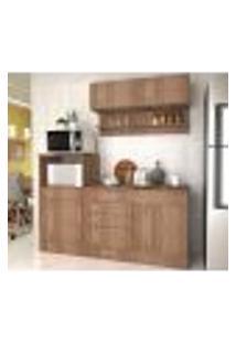 Cozinha Compacta 05 Portas Marajó Cj04 Montana Nova Mobile