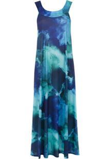 Lygia & Nanny Vestido 'Minati' Estampado - Azul