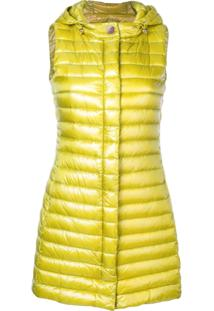 Herno Hooded Padded Gilet - Amarelo