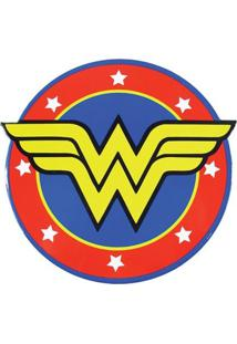 Descanso De Panela Logo Da Mulher Maravilha Geek10 - Multicolorido