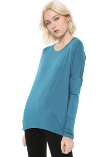Blusa Calvin Klein Básica Verde