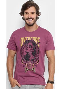 Camiseta Overcore Tattoo Masculina - Masculino