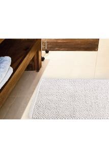 Tapete Para Banheiro Antiderrapante Micropop 60X40Cm Branco - Multicolorido - Dafiti