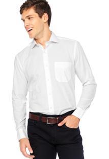 Camisa Manga Longa Vr Slim Branca