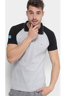 Camisa Polo Fatal Raglan Masculina - Masculino