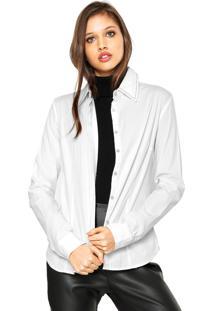 Camisa Carmim Love Branca
