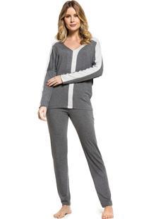 Pijama Inspirate De Inverno Mescla Escuro