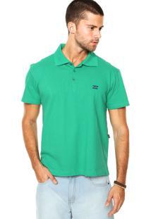 Camisa Polo Billabong Secrets Verde