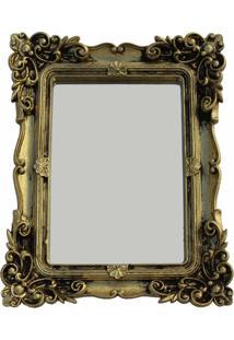Espelho Casa Da Mãe Joana Milano Dourado