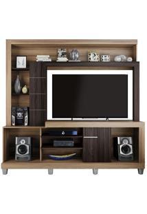 Estante Home Platina Para Tv Atã© 50 Polegadas Caemmun